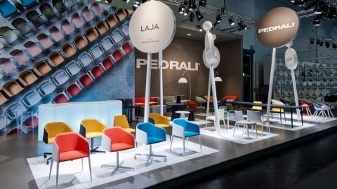 colored chairs, office furniture