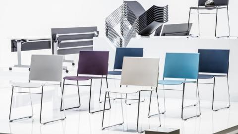 straight design, seats, colors