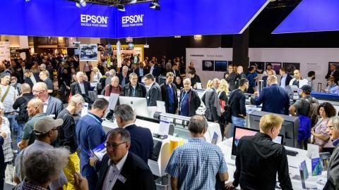 printer, epson, crowd, busy