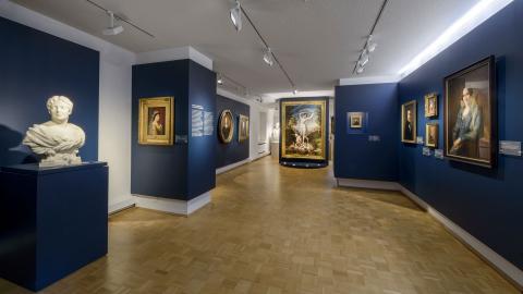 blue room, artwork