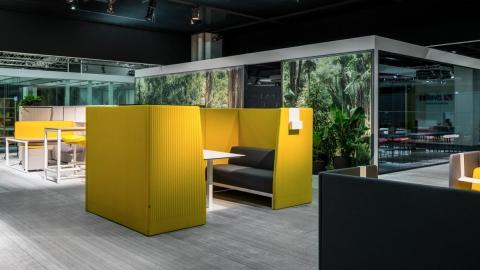 modern design, workspace, silence